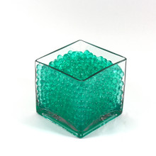 Green Jelly Decor, Gel Water Beads - 1 Pound Bag