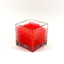 Red Jelly Decor, Gel Water Beads - 1 Pound Bag