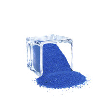 12 Bags, Royal Blue Decorative Color Sand, 1 lb/bag
