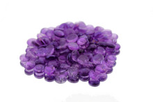 12 Bags, Purple  Flat Marbles - 2 lb/bag