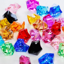 10 Bags, Acrylic Crystal Rock Fillers, Rainbow Mix (approx 150 pcs per bag)