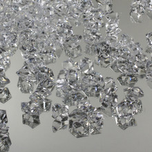 10 Bags, Acrylic Crystal Rock Fillers, Clear (approx 150 pcs per bag)