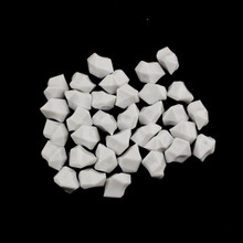 10 Bags, Acrylic Crystal Rock Fillers, White (approx 150 pcs per bag)