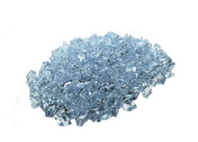 10 Bags, Acrylic Crystal Rock Fillers, Aqua (approx 150 pcs per bag)