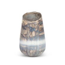 "Strato Tall Glass Vase 9.75""H"