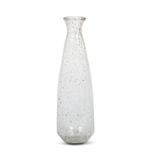 Recycled Glass Tall Floor Vase