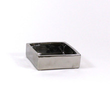"6""x6""x 2"" Silver Low Square Block"