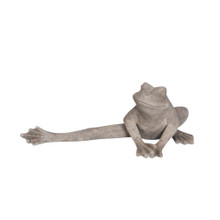 RESIN FROG WITH LEG OUT