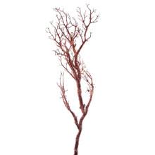"""CASE OF 12 MANZANITA GLITTER TREE BRANCH 47""""- COPPER - 0436CP"""