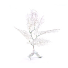 """CASE OF 2 ARTIFICAL CORAL TREE CENTERPIECE 32"""" - WHITE IRIDESCENT - 0670WHAB"""