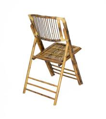 Bamboo Folding Chair - Stick Back