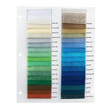 Crystal Organza Color Sample