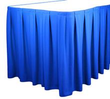 Box Pleat Tableskirt