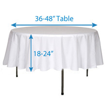 "72"" Round Tablecloths"