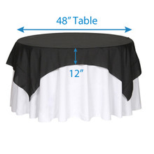 "72"" Square Tablecloths"