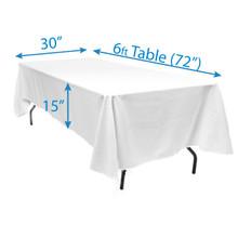 """60"""" x 120"""" Tablecloths"""