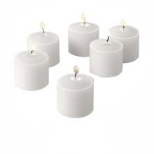 288 White Votive Candles - 10 hr