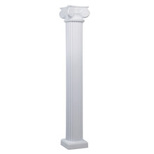 72 Inch Column with Scamozzi Capital