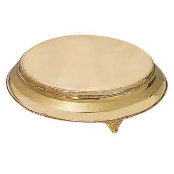brass cake plate