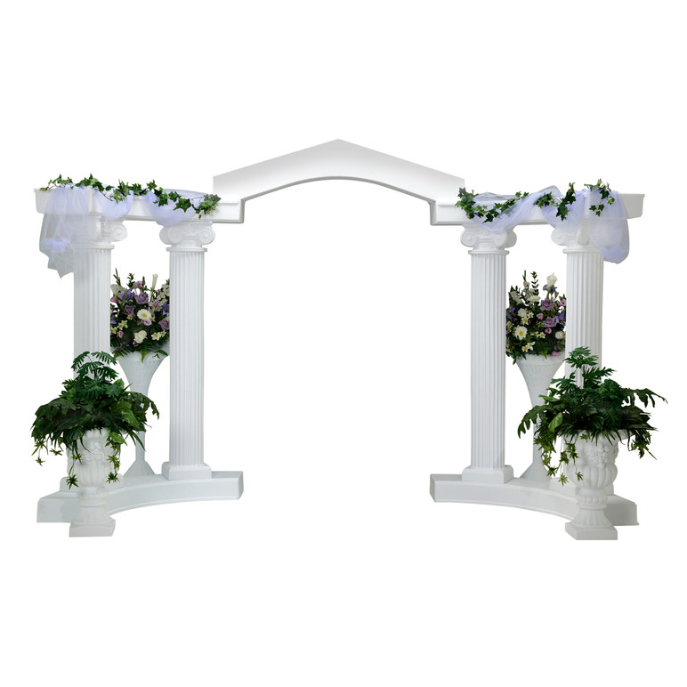 Wedding Colonnade Arch Garden Arbor Events Wholesale