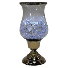 """11"""" Candle Holder with Jewel Crystals"""