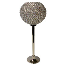 Crystal Ball on Nickel Stand (M)