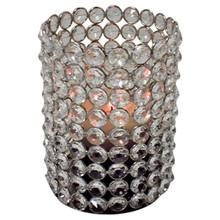 "6"" Crystal Cylinder in Nickel"