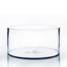 "12"" x 6"" Cylinder Glass Vase - 4 Pieces"