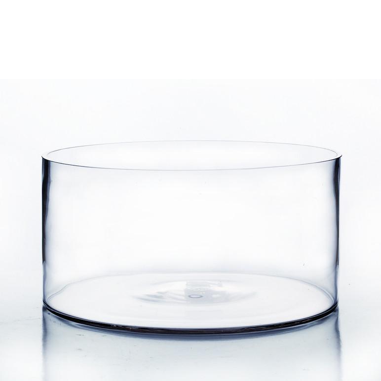 12 Quot X 6 Quot Cylinder Glass Vase 4 Pieces Eventswholesale Com