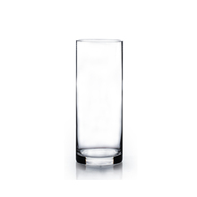 "3"" x 12"" Cylinder Glass Vase - 12 Pieces"