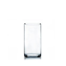 "6"" x 12"" Cylinder Glass Vase - 6 Pieces"