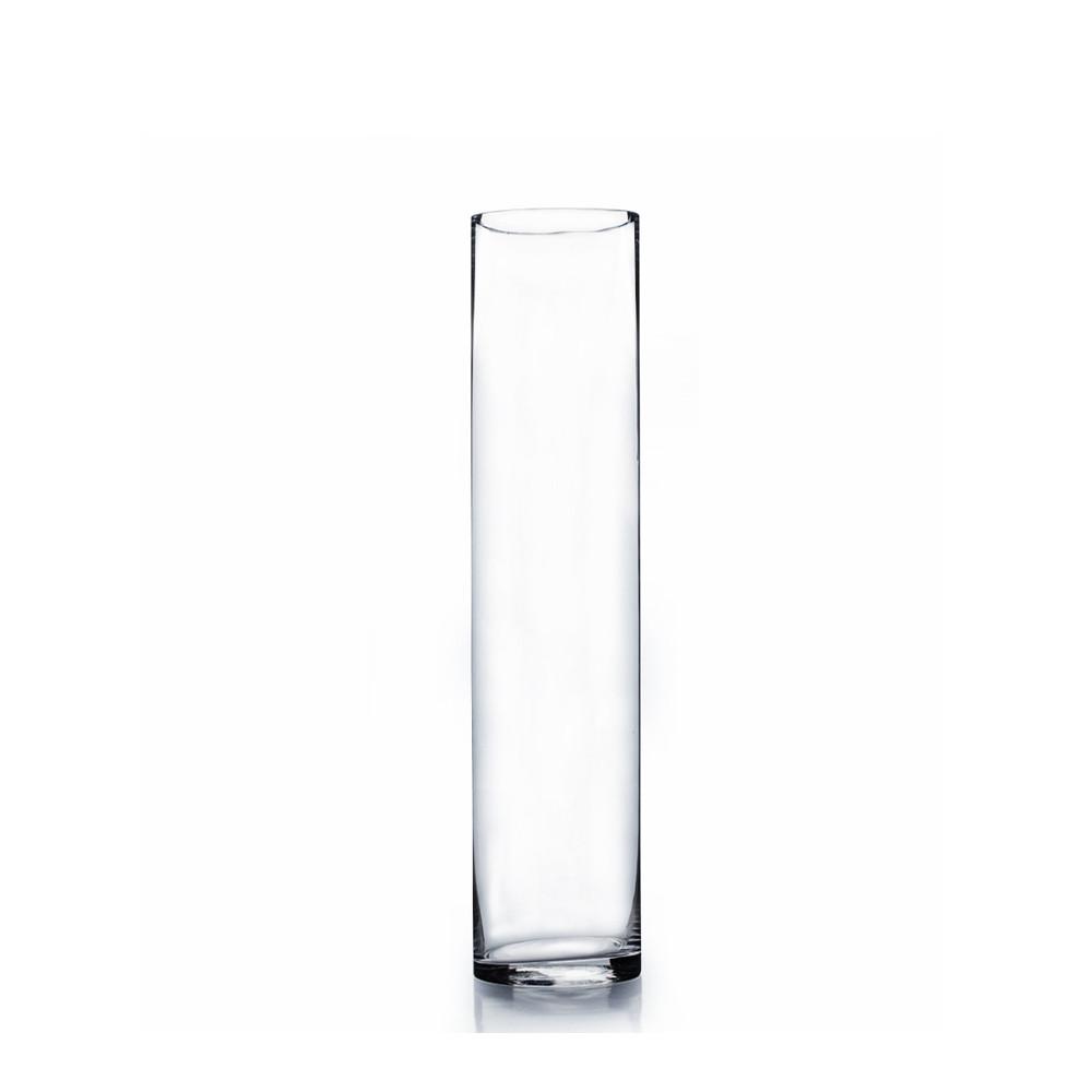 3 Quot X 16 Quot Cylinder Glass Vase 12 Pieces Events Wholesale