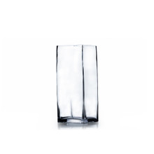 "3"" x 6"" Block Glass Vase - 24 Pieces"