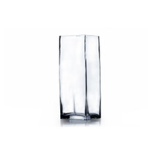 "3"" x 8"" Block Glass Vase - 24 Pieces"
