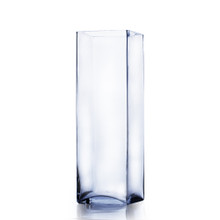 "5"" x 16"" Block Glass Vase - 6 Pieces"