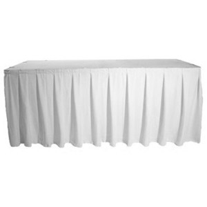 Polyester Table Skirt Events Wholesale