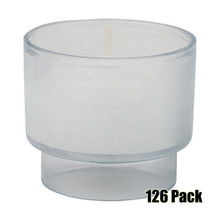 4 Hour Disposable Votives - 126 Pack @ .63/pc