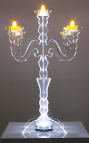 Illuminate Glow Tabletop Candelabra
