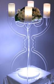 Illuminate Modern Tabletop Candelabra