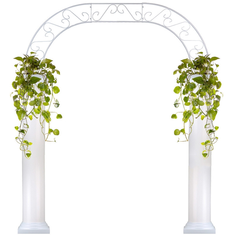 Roman Wedding Arch With Two 6 Foot Columns Eventswholesale Com