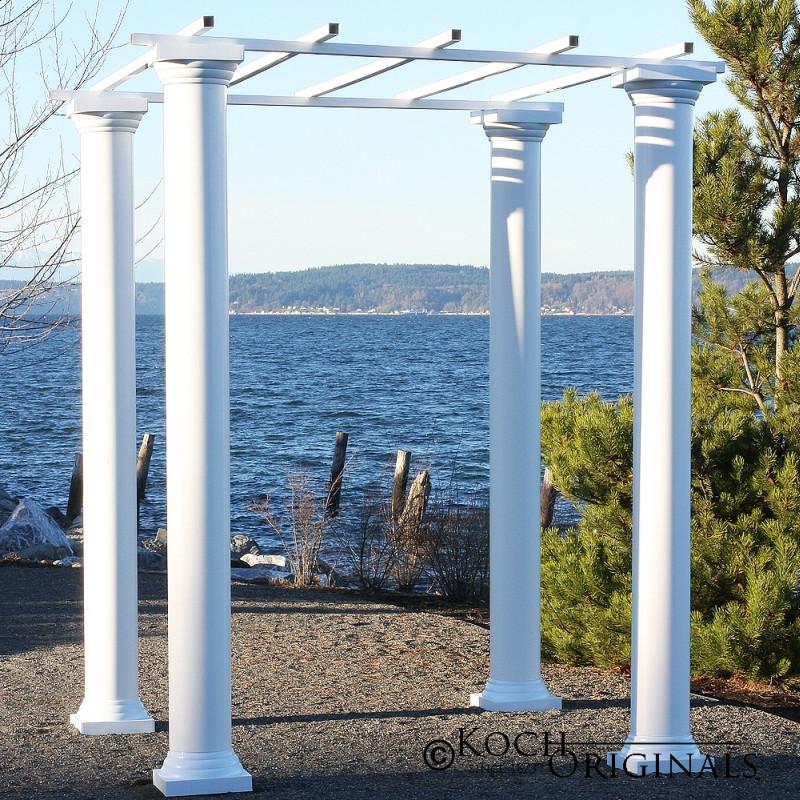 Roman Wedding Gazebo With Four 8 Foot Columns Wholesale
