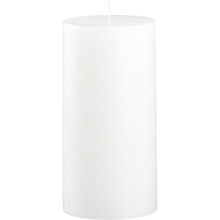 24 White 3 x 6 Pillar Candles