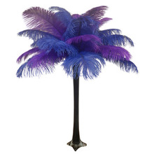 """Royalty"" Ostrich Feather Centerpiece"