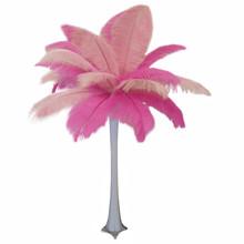 """""""Pretty in Pink"""" Ostrich Feather Centerpiece"""