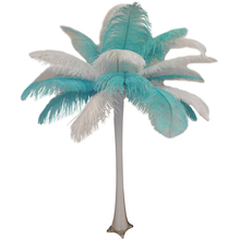 """Tiffany"" Ostrich Feather Centerpiece"