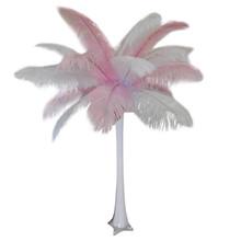 """""""Baby Pink"""" Ostrich Feather Centerpiece"""