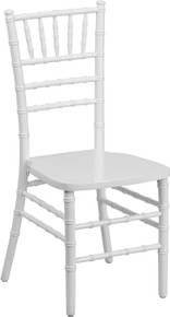 White Supreme Wood Chiavari Chair
