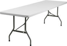 """30""""W x 96""""L Plastic Folding Table"""