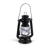 "Small Black Indoor/Outdoor Hurricane Lantern with Dimmer Switch, 9.5""H - 8 Lanterns"