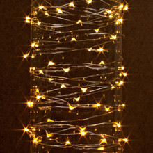 Case of 12 Warm White LED String Battery Operated 10'L